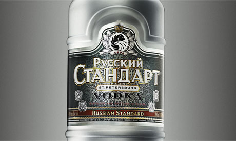 In Russia, it actually snows vodka. Most people don't know that.