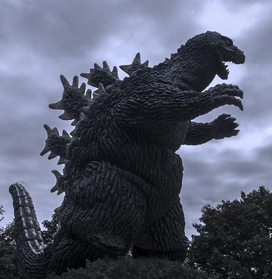 Godzilla, the world's biggest skink.