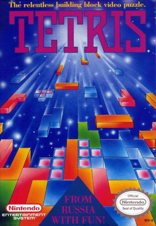 Click above to watch an awesome stop animation Tetris game, which is STILL better than the yet to be made Tetris movie.