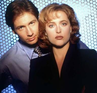 The X-Files had all the sexy people.