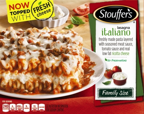 Now it's made with fresh cheese? What was it made with before?